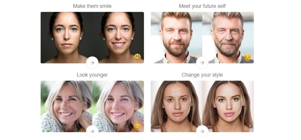 FaceApp AI Filters