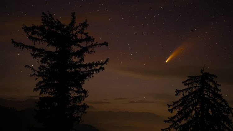 Neowise comet in India