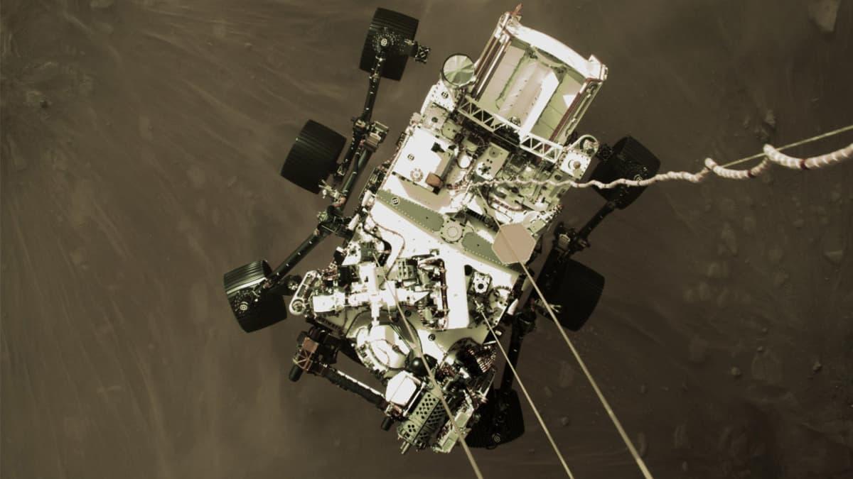 NASA Rover On Mars