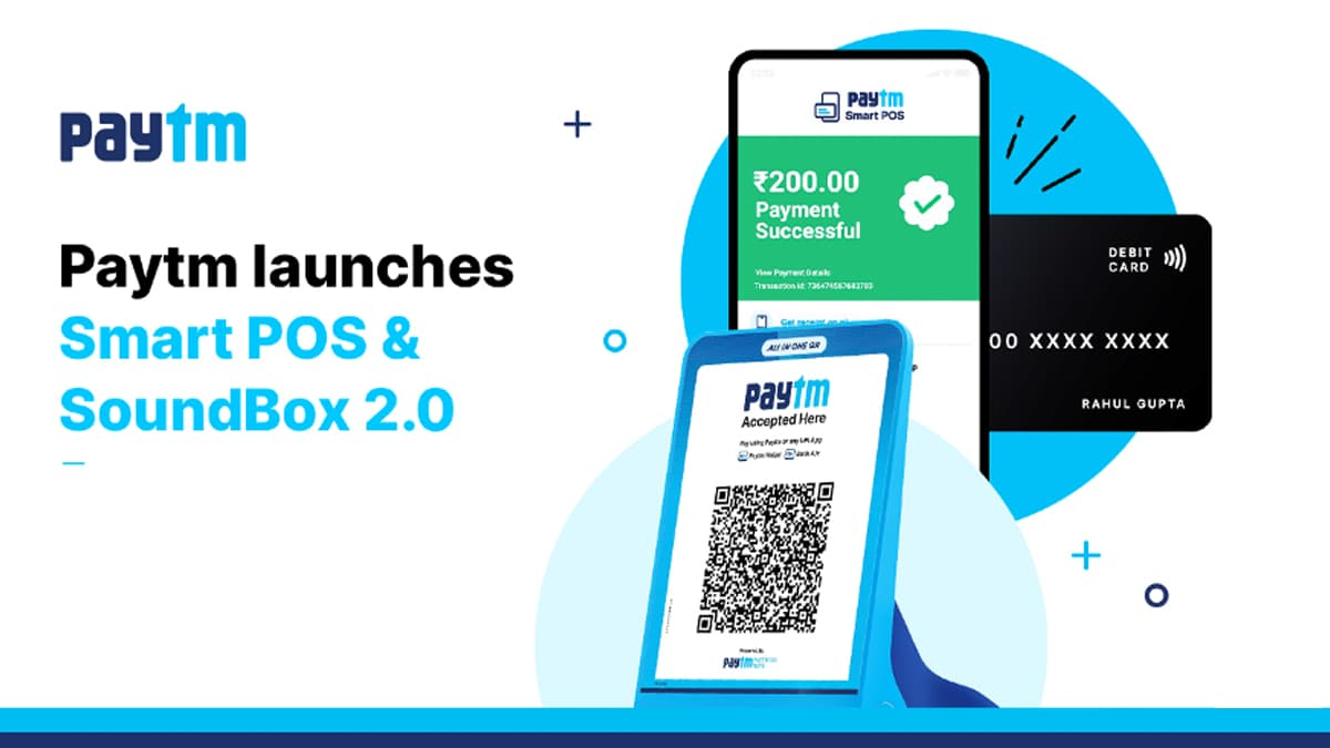 Paytm Smart POS SoundBox 2.0