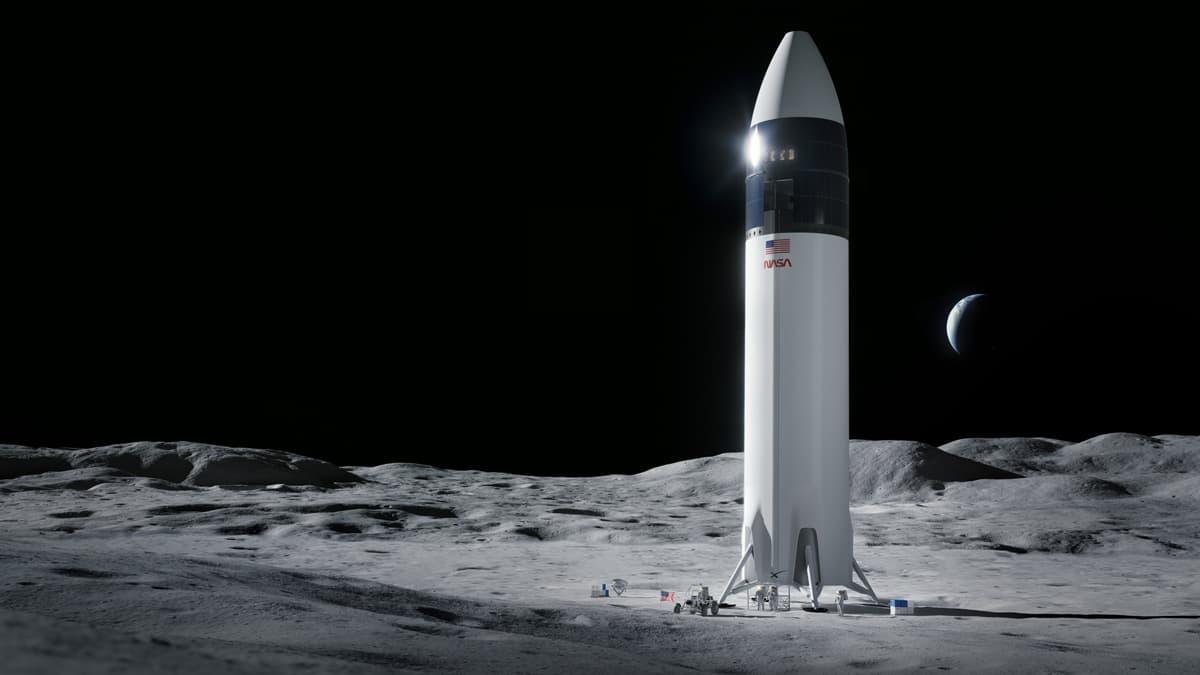 SpaceX Nasa Moon Lander